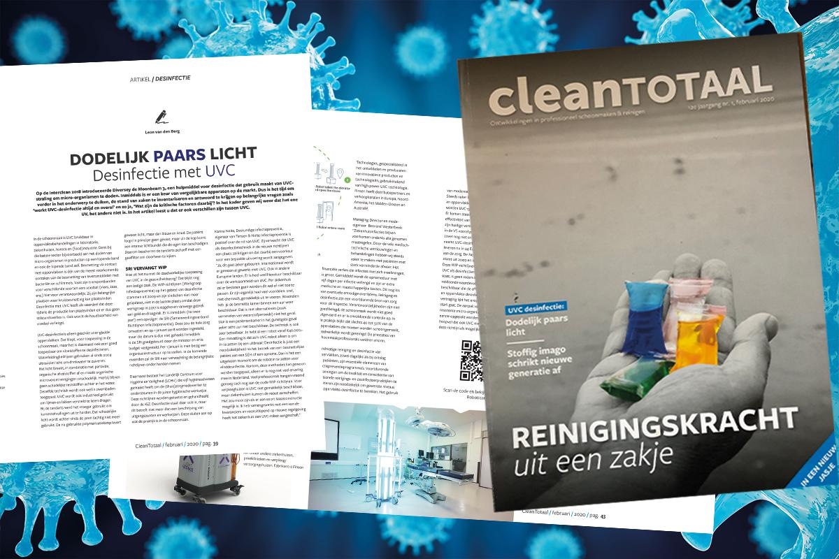 UVC desinfectie CleanTotaal