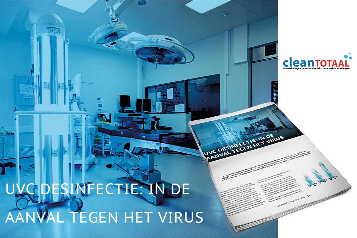 UVC desinfectie in de aanval tegen het virus clean totaal