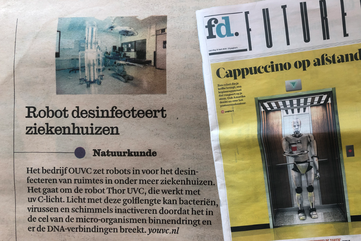 YOUVC in het Financieel Dagblad