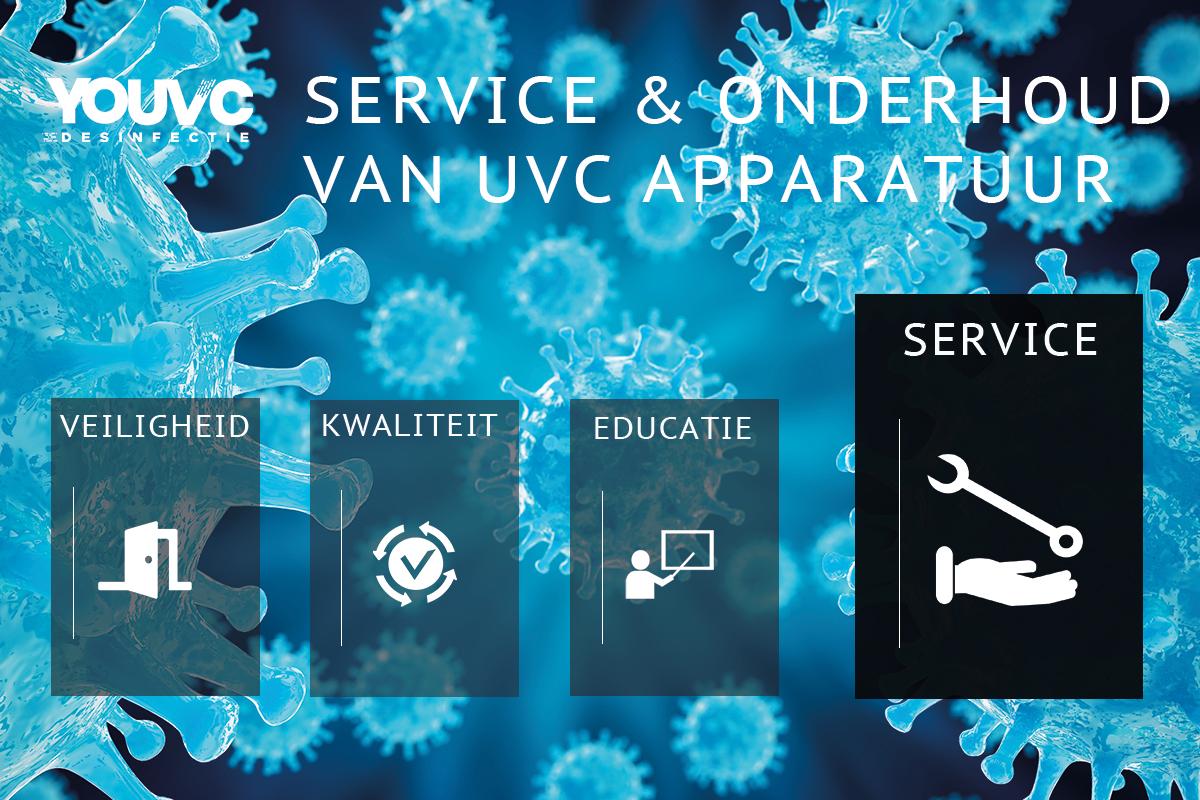 Service en onderhoud UVC apparatuur