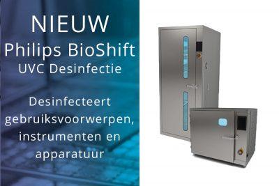 Nieuw Philips BioShift UVC Desinfectie Kast