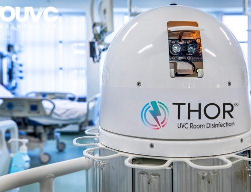 Vingerafdrukken op UVC lampen