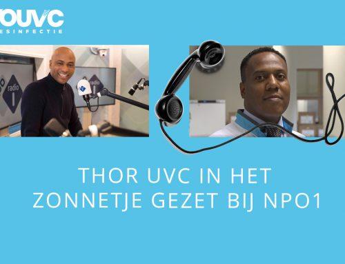 Humberto Tan bespreekt THOR UVC op NPO1