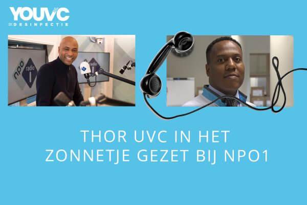 Humbert Tan en Ivar Lede THOR UVC