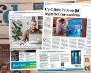 UVC-licht in de strijd tegen het coronavirus Financieel Dagblad
