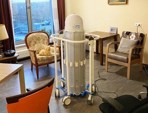 UVC desinfectie getoetst bij verpleeghuis Riederborgh